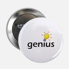"LIGHTBULB GENIUS 2.25"" Button (100 pack)"