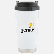 LIGHTBULB GENIUS Travel Mug