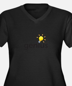 LIGHTBULB GENIUS Plus Size T-Shirt
