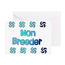 Non Breeder Greeting Card