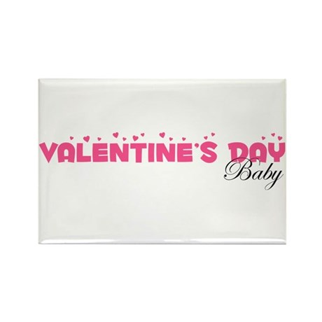 Valentine's Day Baby Rectangle Magnet