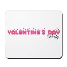 Valentine's Day Baby Mousepad