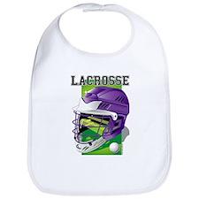 Lacrosse Helmet (Purple) Bib