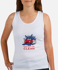 KEEP YOUR RIDE CLEAN Tank Top
