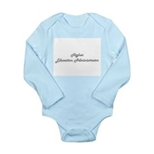 Higher Education Administrator Classic J Body Suit