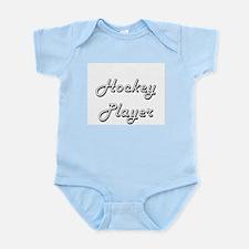 Hockey Player Classic Job Design Body Suit