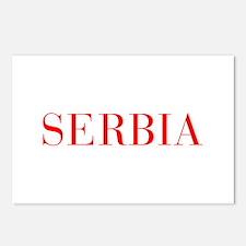 Serbia-Bau red 400 Postcards (Package of 8)