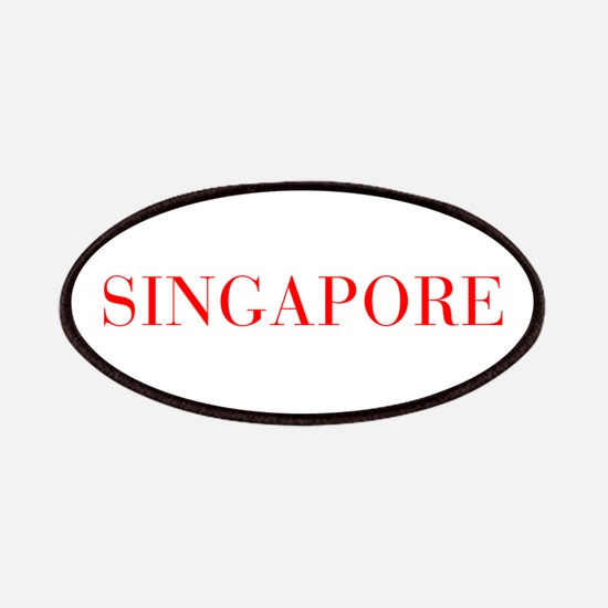 Singapore-Bau red 400 Patch