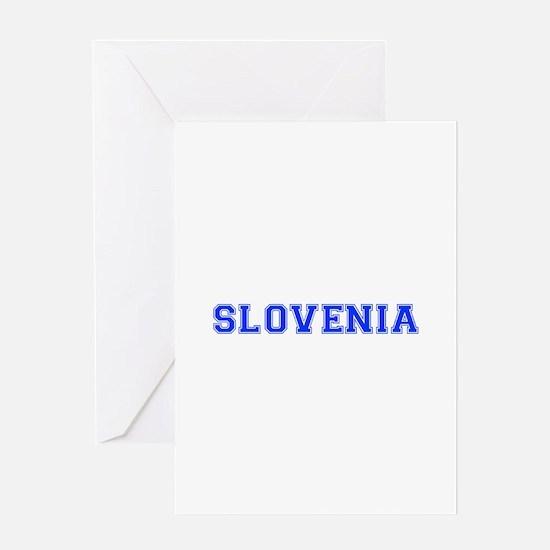 Slovenia-Var blue 400 Greeting Cards