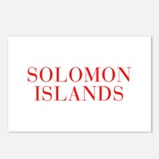 Solomon Islands-Bau red 400 Postcards (Package of
