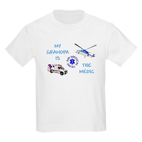 Grandpa Medic Kids T-Shirt