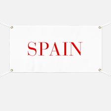 Spain-Bau red 400 Banner
