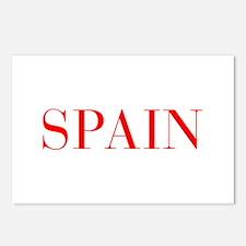Spain-Bau red 400 Postcards (Package of 8)
