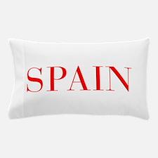 Spain-Bau red 400 Pillow Case