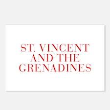St Vincent and The Grenadines-Bau red 400 Postcard