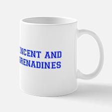 St Vincent and The Grenadines-Var blue 400 Mugs