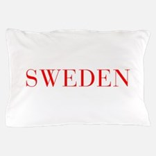 Sweden-Bau red 400 Pillow Case