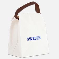 Sweden-Var blue 400 Canvas Lunch Bag