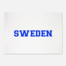 Sweden-Var blue 400 5'x7'Area Rug