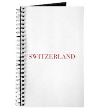 Switzerland-Bau red 400 Journal