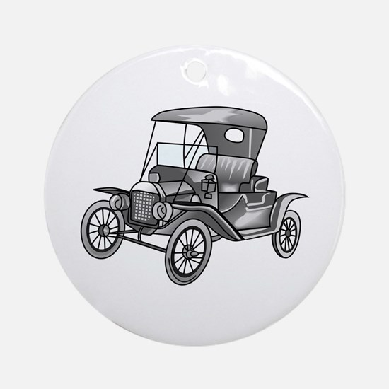 MODEL T CAR Ornament (Round)