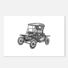 MODEL T CAR Postcards (Package of 8)