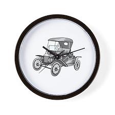 MODEL T CAR Wall Clock
