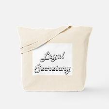 Legal Secretary Classic Job Design Tote Bag