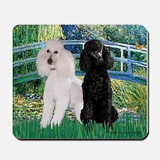 Bridge & Poodle Pair (St) Mousepad