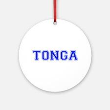 Tonga-Var blue 400 Ornament (Round)