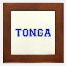 Tonga-Var blue 400 Framed Tile