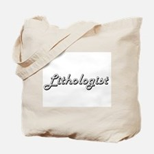 Lithologist Classic Job Design Tote Bag