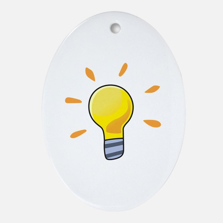 LIGHTBULB Ornament (Oval)