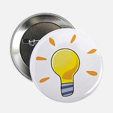 """LIGHTBULB 2.25"""" Button (100 pack)"""