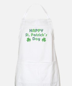 Happy St. Patrick's Day Apron