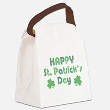 Happy St. Patrick's Day Canvas Lunch Bag