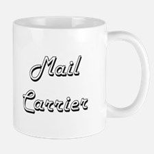 Mail Carrier Classic Job Design Mugs