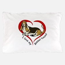 LOVE MY BASSET HOUND Pillow Case