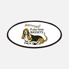 IF YOU LOVE BASSETS Patch