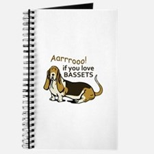 IF YOU LOVE BASSETS Journal