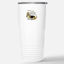 IF YOU LOVE BASSETS Travel Mug
