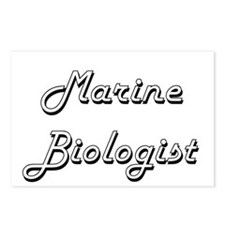 Marine Biologist Classic Postcards (Package of 8)