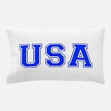 USA-Var blue 400 Pillow Case