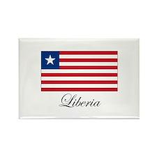 Liberia - Flag Rectangle Magnet