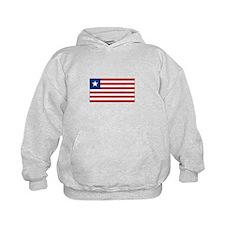 Liberia Flag Hoodie