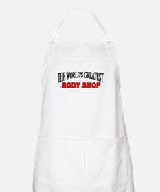 """The World's Greatest Body Shop"" BBQ Apron"