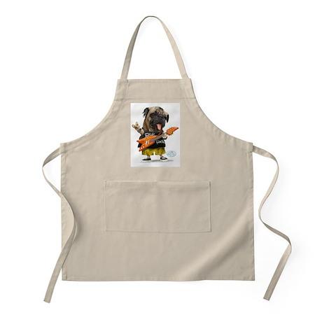 Pug Rocker BBQ Apron