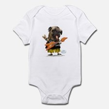 Pug Rocker Infant Bodysuit