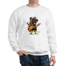 Pug Rocker Sweatshirt