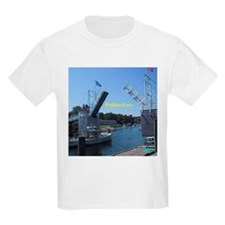 drawbridge in Perkins Cove, Maine T-Shirt